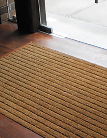 Birrus COCAMAT recessed entranceway matting system