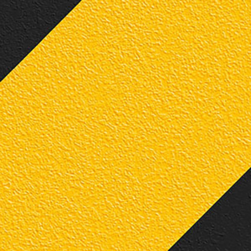 No Skidding Grit Tapes Black and Yellow Stripes